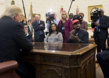 """Kanye West en la Casa Blanca: """"Trump es un héroe"""""""