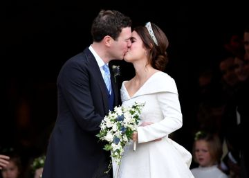 Eugenia de York y Jack Brooksbank se casan en una boda no tan real