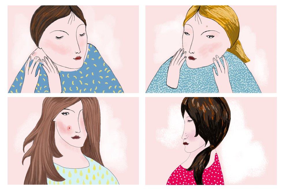 granos por dentro de la piel en la cara