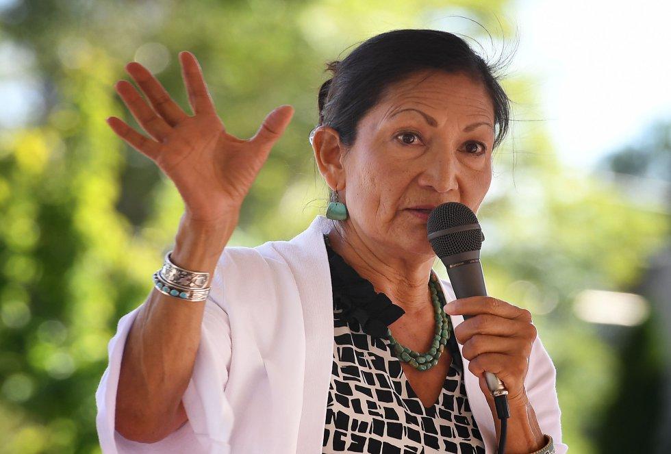 La candidata demócrata por Nuevo México puede convertirse en la primera indígena en llegar al Congreso de EEUU. Haaland, de 57 años, pertenece a la tribu de Pueblo de Laguna, una de las 566 reconocidas legalmente en el país. Lleva casi dos décadas entre las bambalinas de la política. En 2008 trabajó de voluntaria en la primera campaña presidencial de Barack Obama. Cuatro años después volvió a trabajar para el entonces candidato, esta vez como responsable de los votantes nativos de Nuevo México. En 2015 se convirtió en la líder del Partido Demócrata del Estado y contribuyó a que la Cámara de Representantes de Nuevo México pasara a control demócrata.