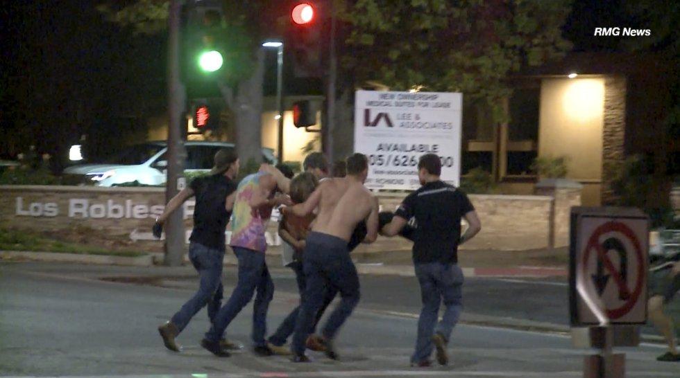 Resultado de imagen para TIROTEO CALIFORNIA THOUSAND OAKS