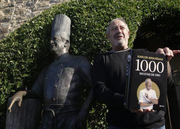Arguiñano celebra sus 50 años como cocinero con '1.000 recetas de oro'