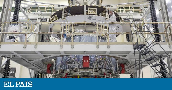 hot sale online 29e79 4f29e Nace  Orion , la nave para llevar astronautas más allá de la Luna   Ciencia    EL PAÍS