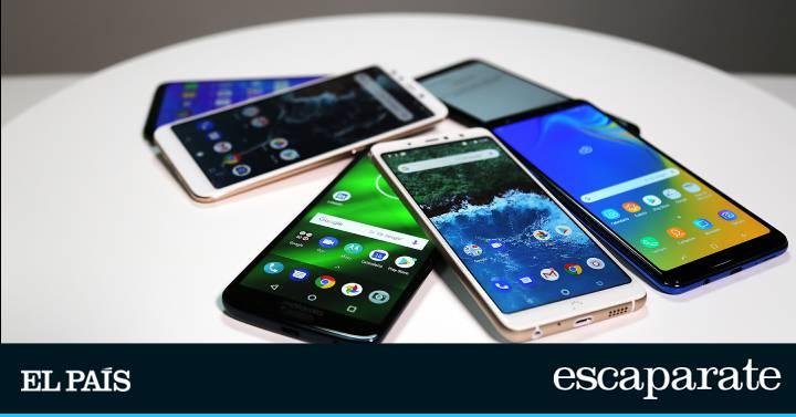 f5a5955aaa4 Los mejores móviles en relación calidad-precio de 2018 | Escaparate | EL  PAÍS