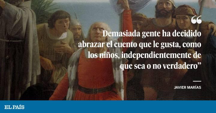 Columna Javier Marías Nos Complace Esta Ficción El País Semanal