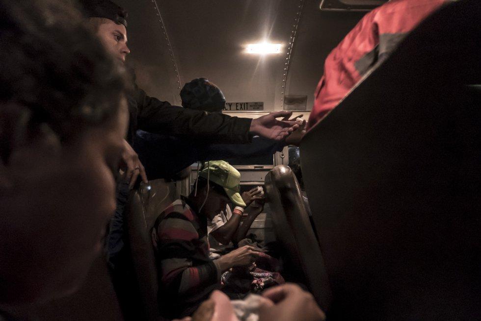 Fotos As U00ed Ha Sido El Camino De La Caravana Migrante