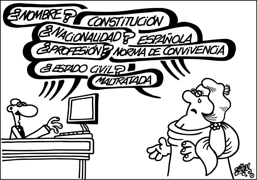A Constitución en viñetas