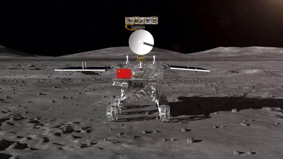 China lanza hoy la sonda Chang'e 4 a la cara oculta de la Luna