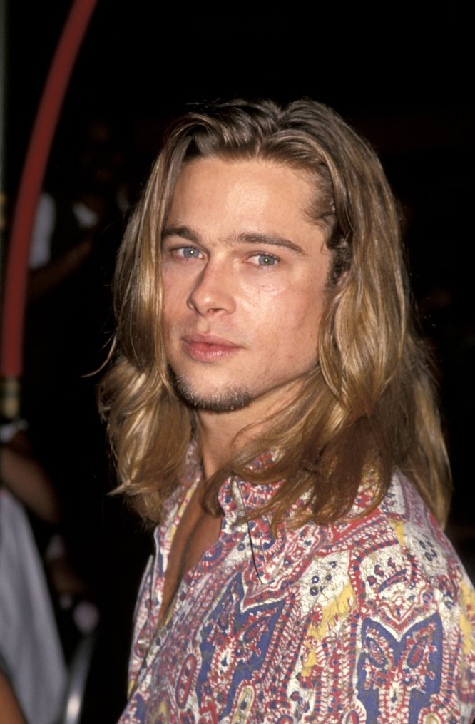 Brad Pitt en Los Ángeles (California) en 1993, el año antes del estreno de 'Entrevista con el vampiro' y 'Leyendas de pasión'.