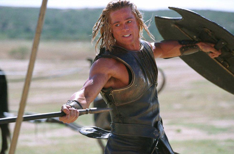 Brad Pitt, en su interpretación de Aquiles, en la película 'Troya' en 2004.