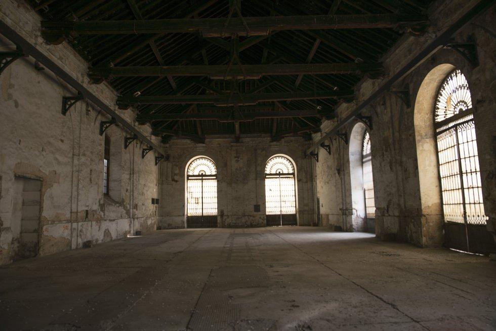 Sala de los Grabados, uno de los espacios que se rehabilitará para usos culturales.