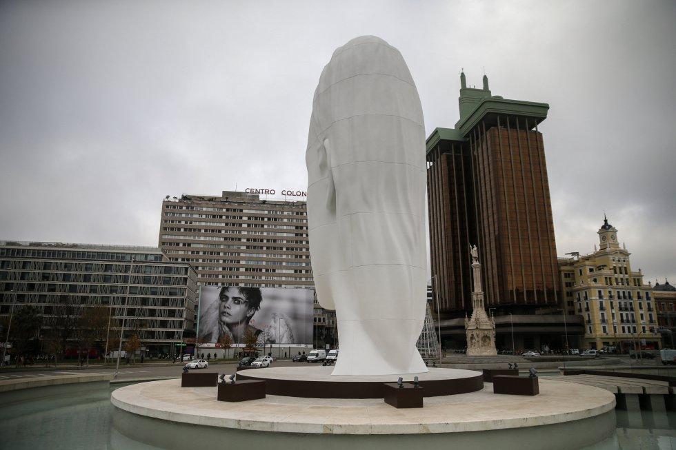 plaza de colon busto