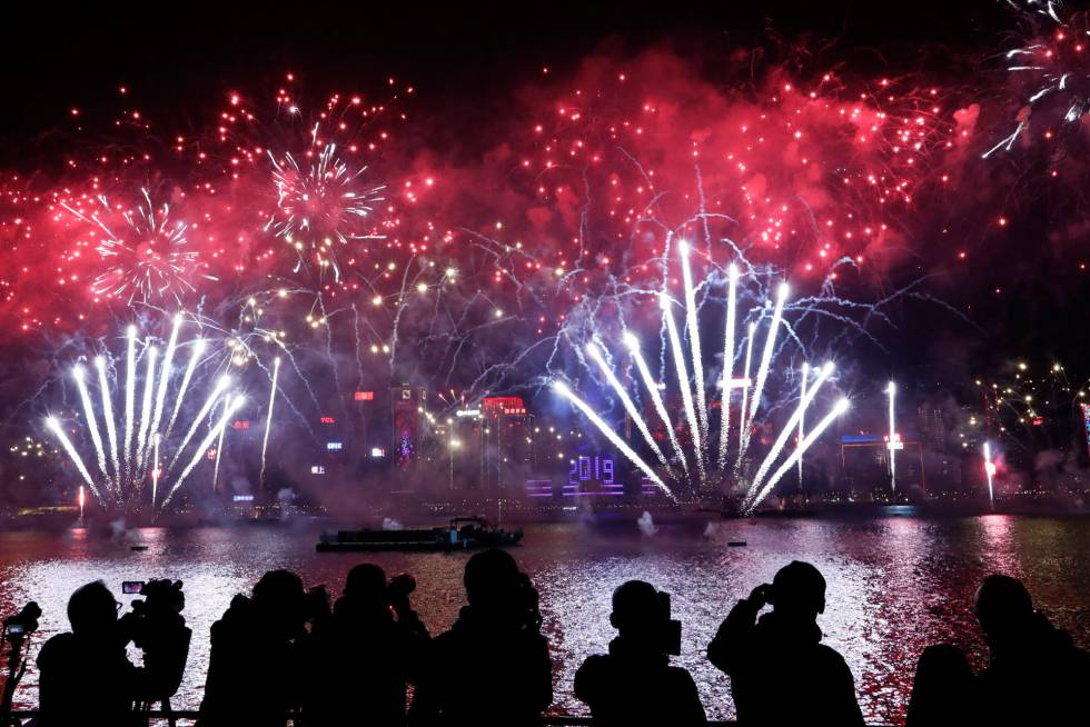 Fotos Feliz Ano Nuevo 2019 Las Celebraciones Alrededor Del Mundo