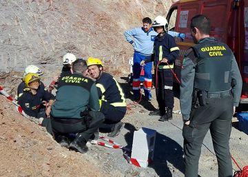 Un niño de dos años cae a un pozo de 150 metros en Málaga