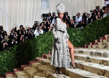 Rihanna prepara una marca de ropa con LVMH