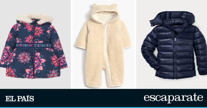 faa61fd35 Rebajas 2019  las mejores ofertas en ropa de abrigo para bebés y niños