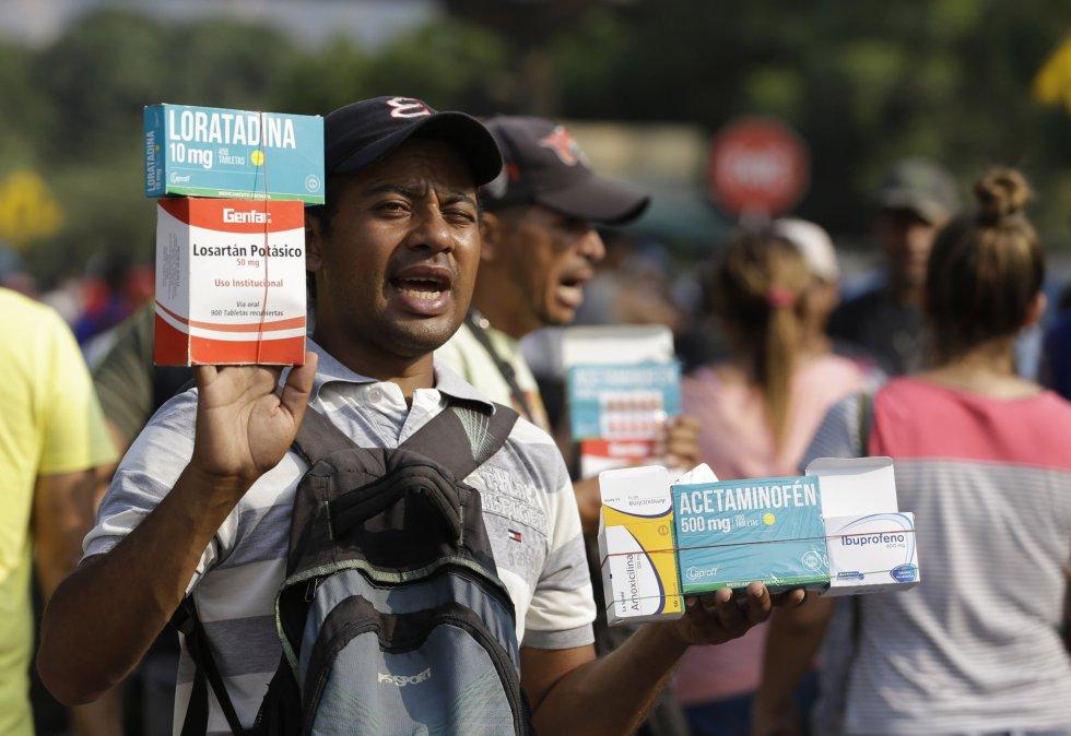 Los medicamentos más demandados en la venta ambulante en la frontera, por su escasez en Venezuela, son los antialérgicos, los fármacos contra la tesión, antibióticos y analgésicos.