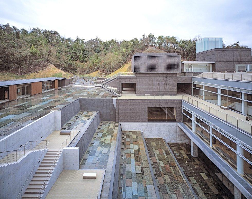 Vista del Ceramic Park MINO de Tajimi (Japón).