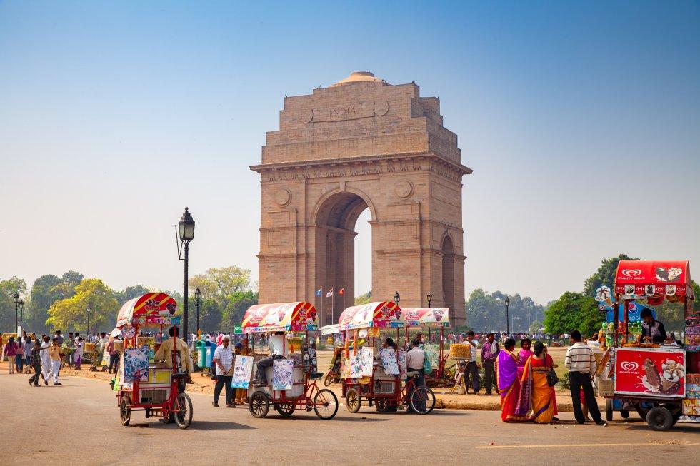 Nueva Delhi, en la India, obtiene 43 puntos. En la clasificación de las ciudades más baratas se coloca así en décimo lugar.