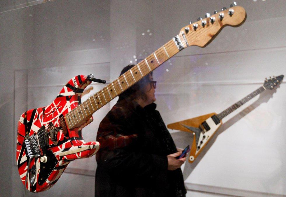 A guitarra 'Frankenstein', de Eddie Van Halen.