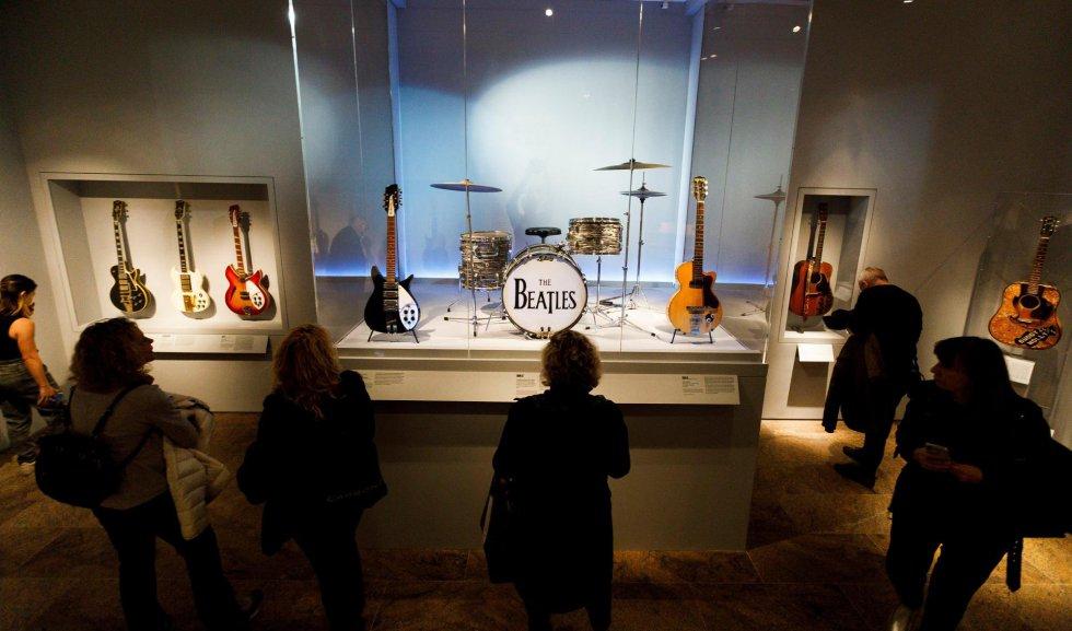 A bateria do ex-Beatle Ringo Star.
