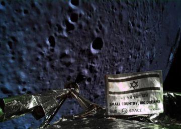 Israel se estrella en su intento de aterrizar sobre la Luna