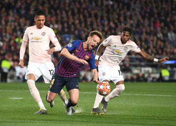 Barcelona - Manchester United, el partido de Champions, en imágenes