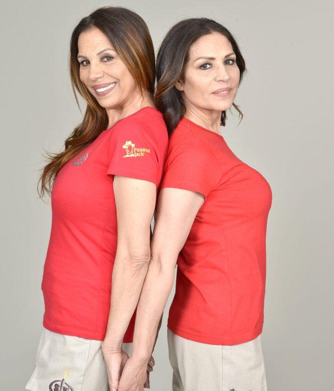 Toñi y Encarna Salazar son hermanas y cantantes y amigas de Isabel Pantoja.