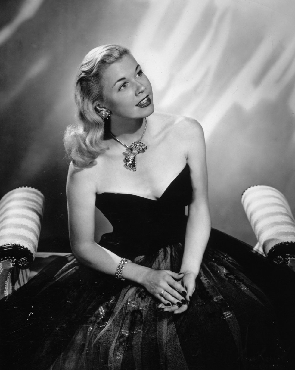 Retrato de la actriz Doris Day, en 1945.