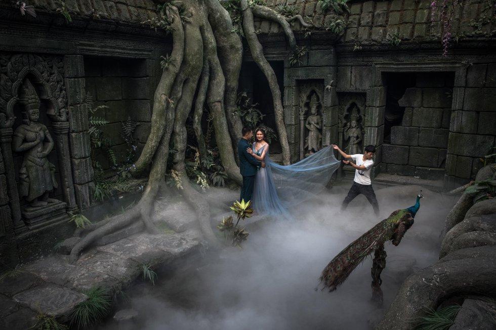 Las fotos de preboda, un nuevo ritual en China