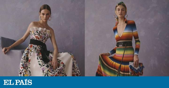 """0f3344c5b5 Carolina Herrera responde a la polémica: su colección """"rinde homenaje"""" a  México   Estilo   EL PAÍS"""