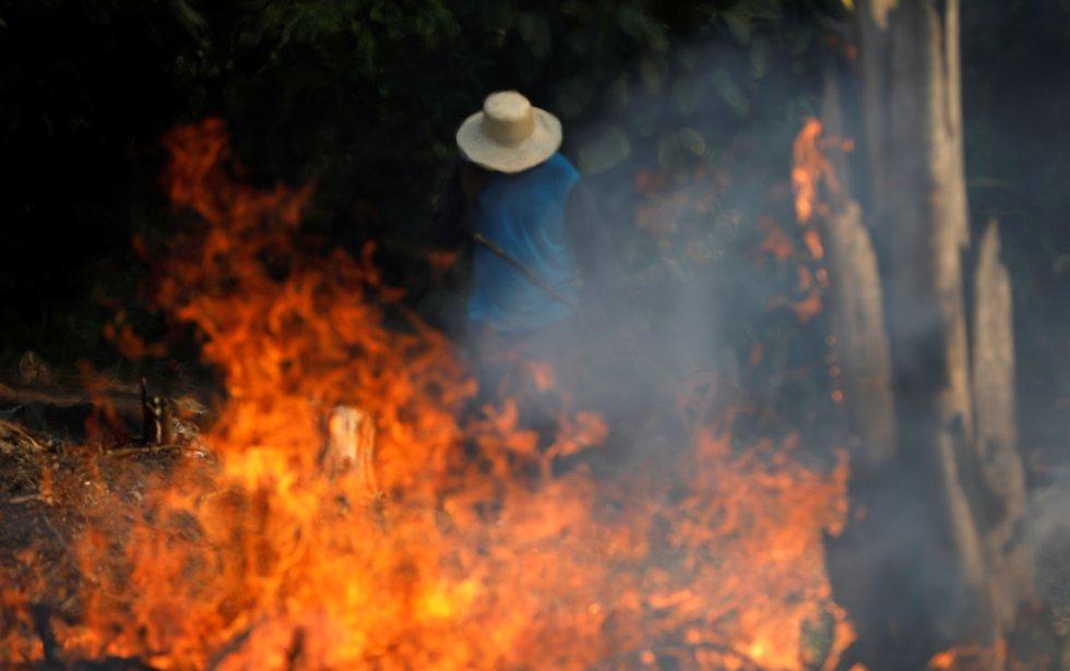 Fotos: A Amazônia arde em chamas     EL PAÍS