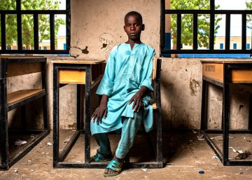 La violencia expulsa del colegio a casi dos millones de niños en África en dos años