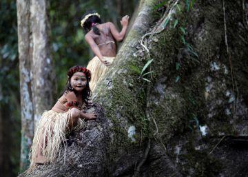 El rezo de las tribus indígenas por la protección del Amazonas