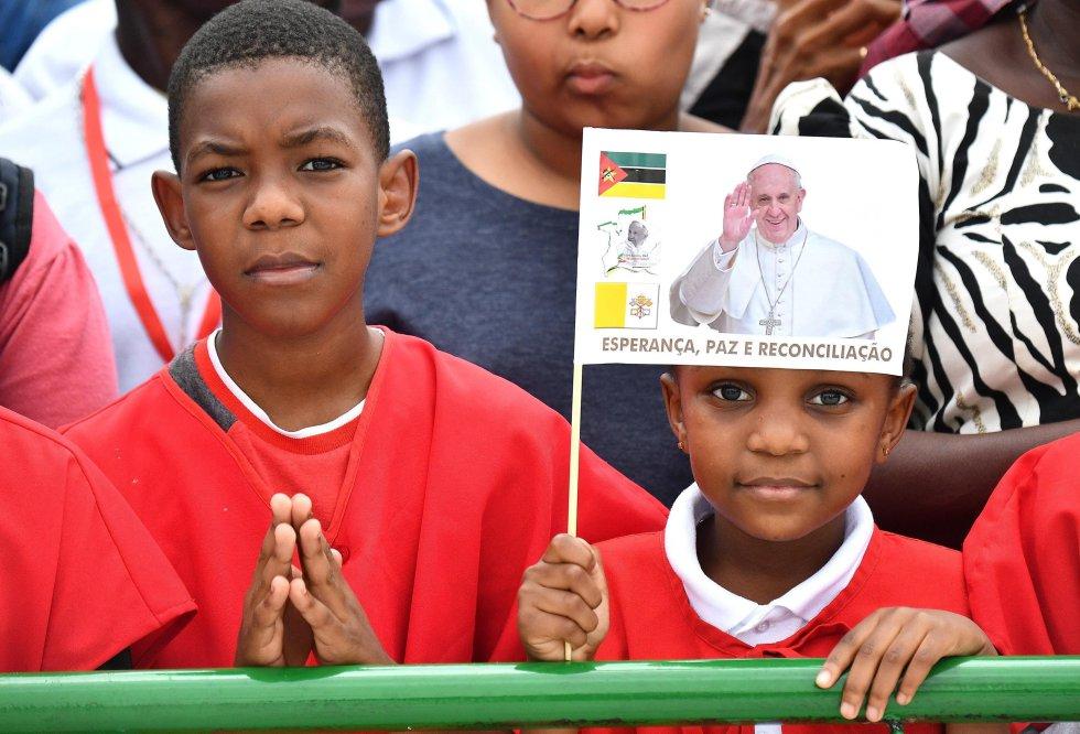 El Papa, en Mozambique