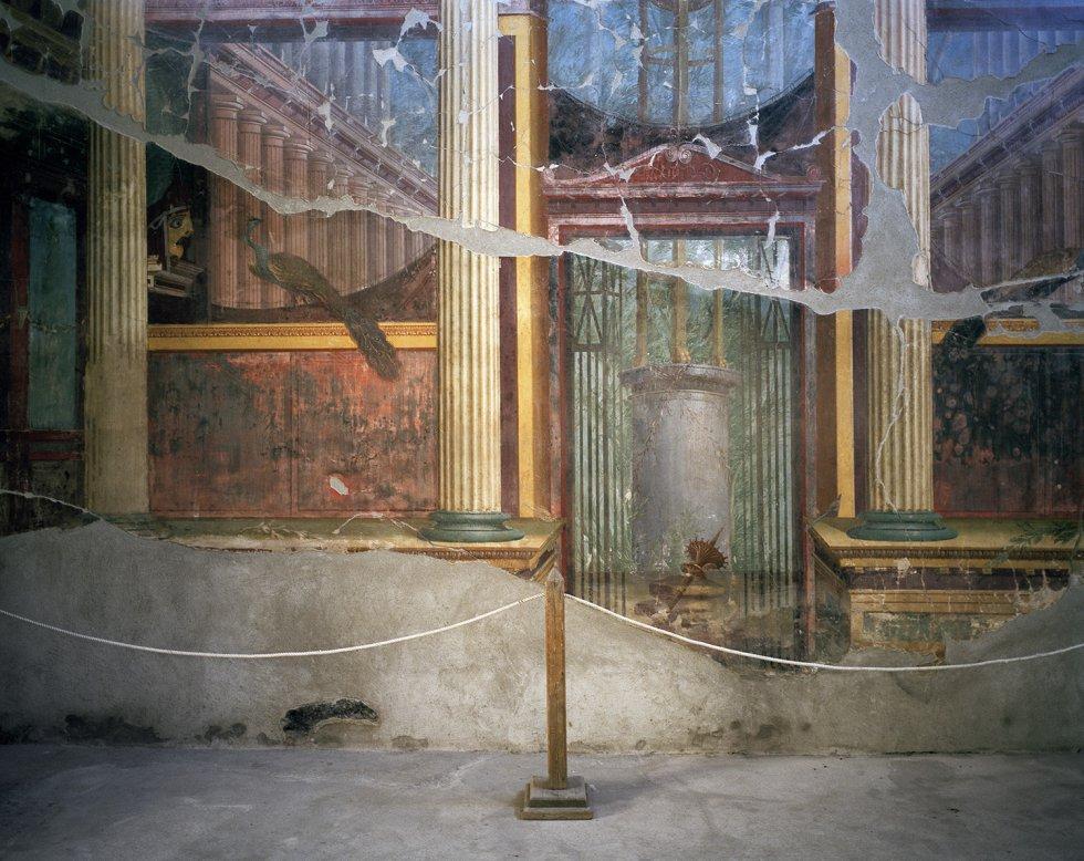 Vila Poppea, Oplontis. Entre Pompeia e Nápolis, vila também foi soterrada na história erupção do Vesúvio em 79 depois de Cristo.