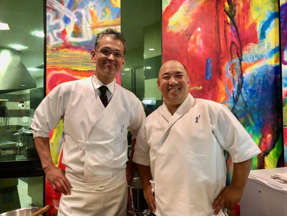 Koji Kimura y Shuji Niitome, emociones gastronómicas japonesas