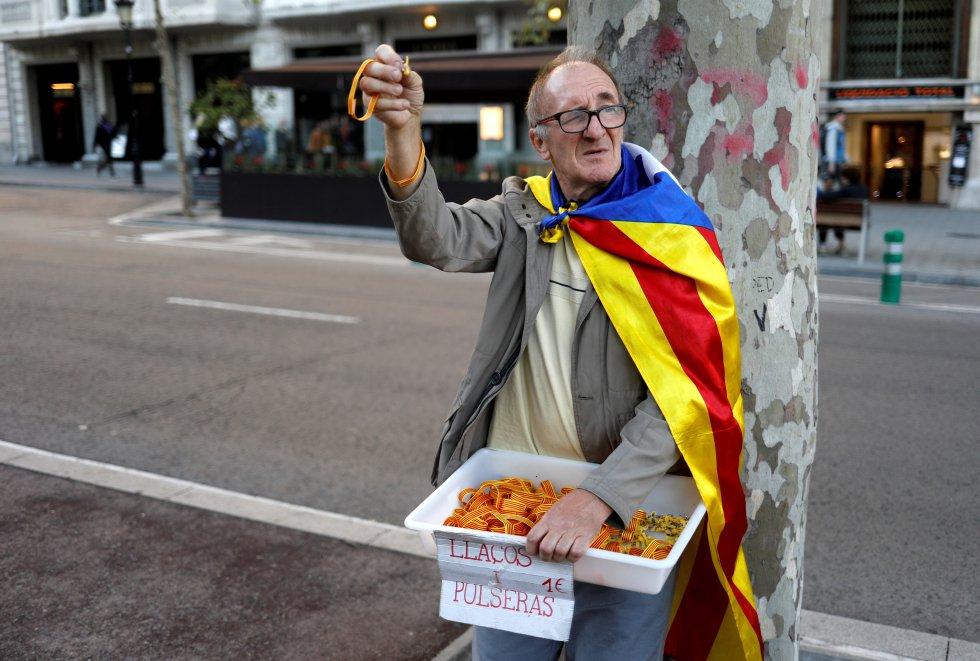 Los independentistas catalanes retoman las manifestaciones, en imágenes 1571152266_965287_1571157465_album_normal