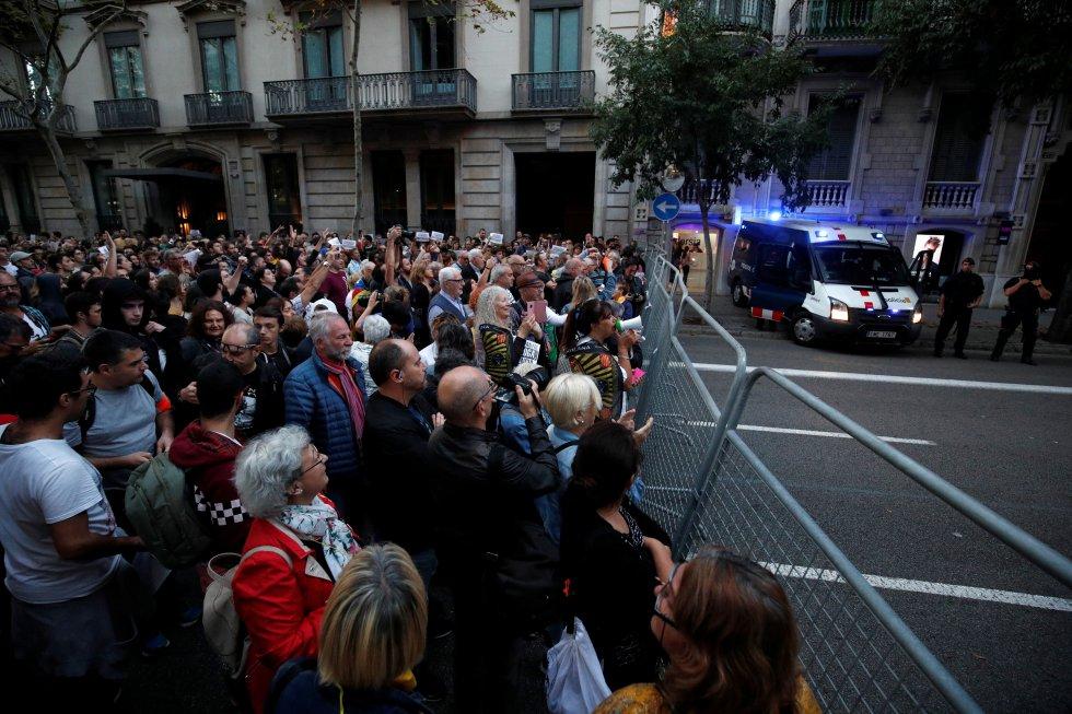 Los independentistas catalanes retoman las manifestaciones, en imágenes 1571152266_965287_1571162764_album_normal