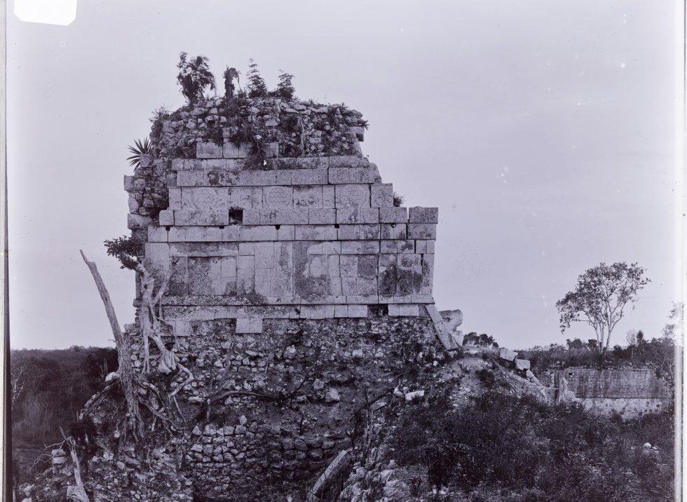 A zona de Chichén Itzá, na península mexicana de Yucatán. Sem dúvida, as peças de Maudslay têm sua história, pois constituem uma das mais antigas memórias arqueológicas do México.