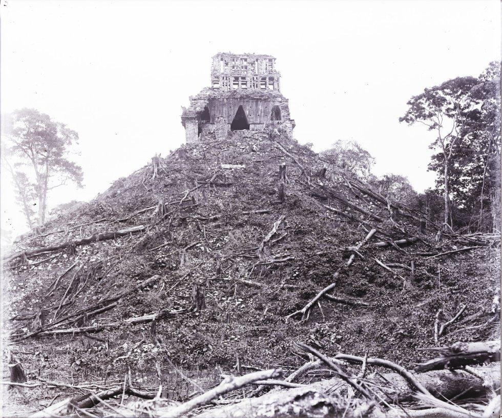 El Palenque, Templo de la Cruz. Año de la imagen 18811894.