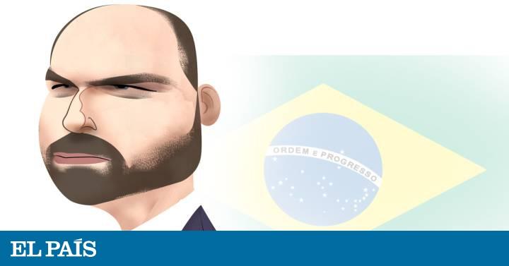 Eduardo Bolsonaro, el heredero del clan