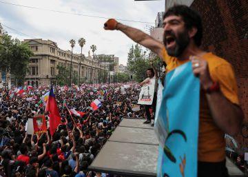 Las imágenes de la marcha histórica de Chile