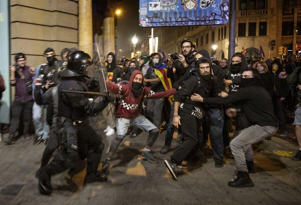 violence barcelone