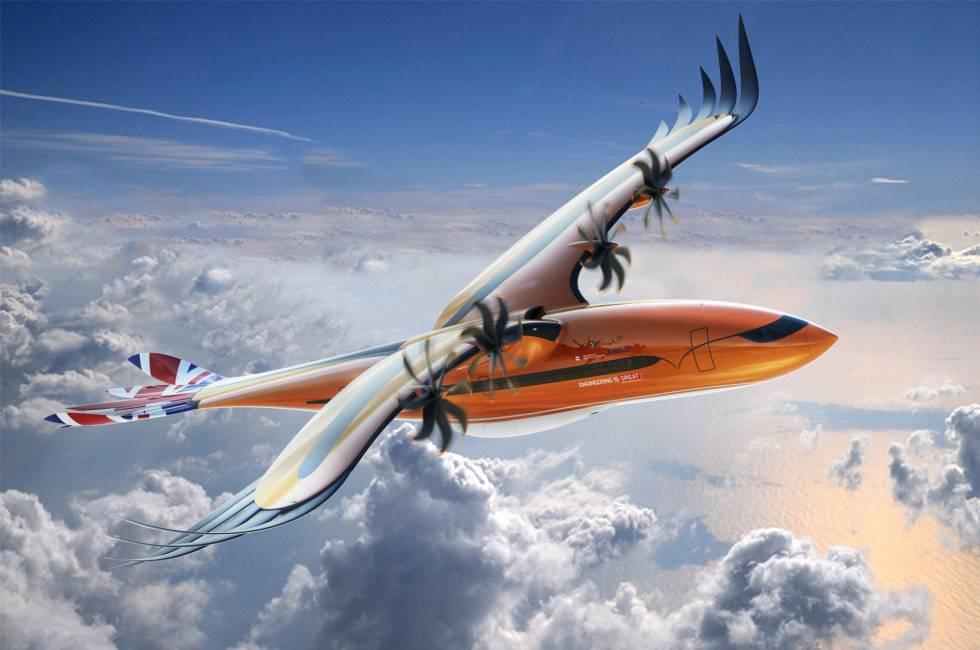 Así volarán los aviones del futuro