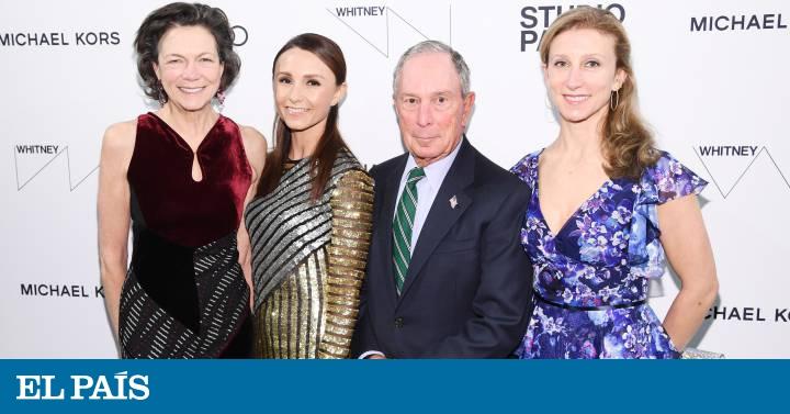 La variopinta familia que arropa a Michael Bloomberg, el aspirante a la presidencia de EE UU