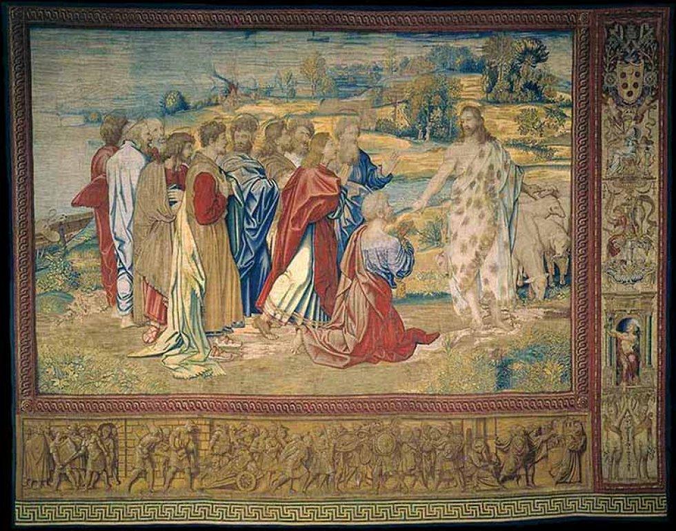 'Jesús entregando las llaves a Pedro'.