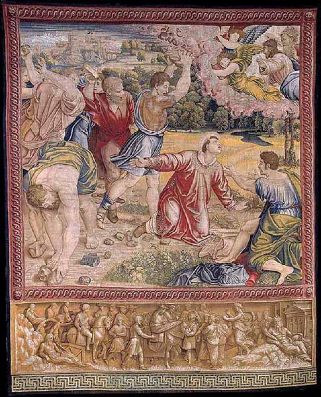 'El martirio de San Esteban'.