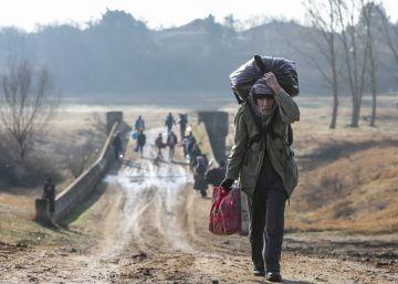 La crisis migratoria entre Turquía y Grecia, en imágenes