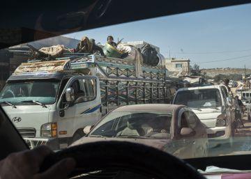 Sobrevivir a las bombas: la vida en el último reducto rebelde de Siria